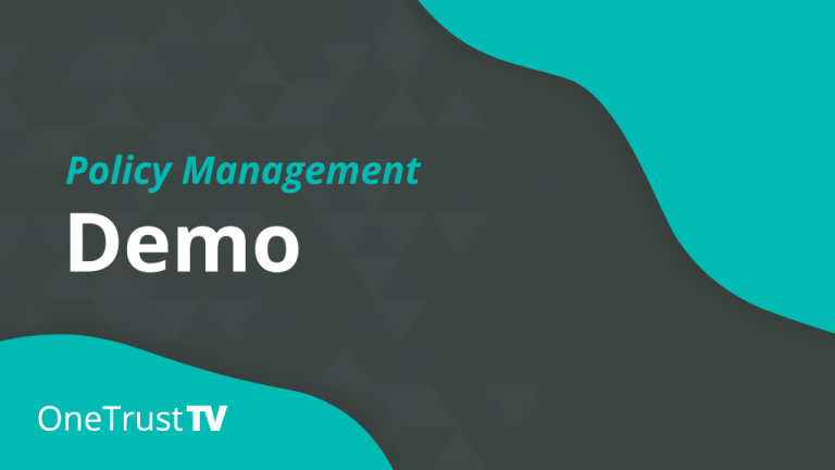 Policy Management Demo