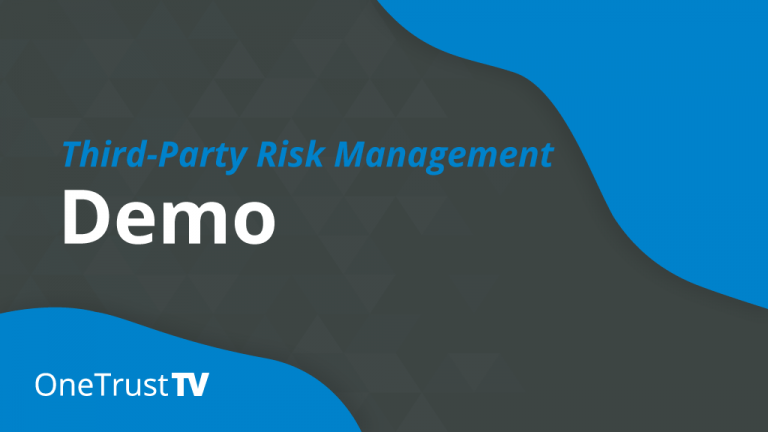 Third-Party Risk Management Demo